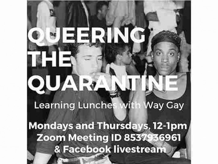 William Way Center Queering the Quarantine