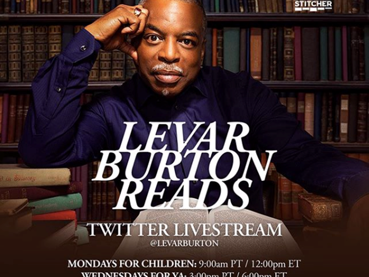 Lavar Burton Reads Adult Edition