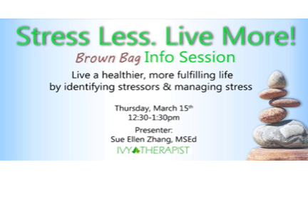Stress Less Info Session